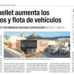 Naparpellet aumenta los servicios y flota de vehículos